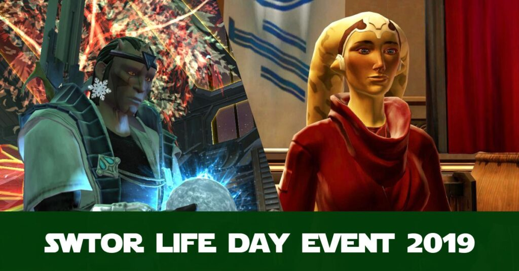 SWTOR Life Day Event Guide. What is Life Day and How Do I Get the Rewards?