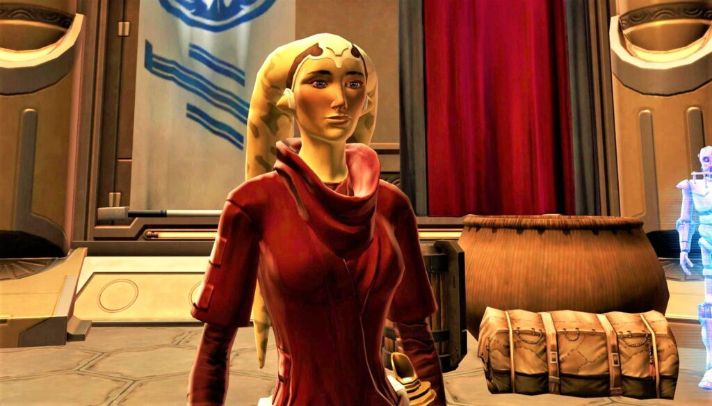 SWTOR Life Day Vestments - Armour / Outfit item, in its default colour
