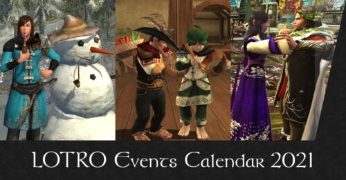 LOTRO Events Calendar 2021 – Schedule of Festivals, Boosts and Events