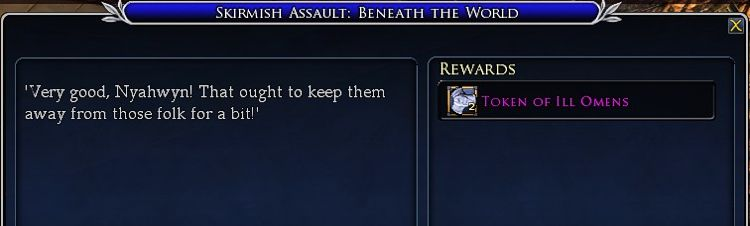 Skirmish Assault: Beneath the World - Daily rewards two tokens