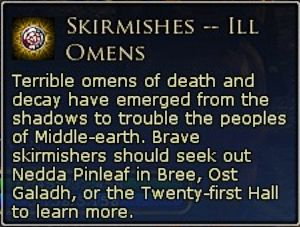 Skirmishes Buff tells you where to go, in a manner of speaking!