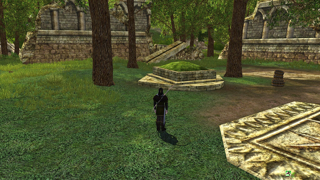 Ancient Cairn Location - History of the Dùnedain Deed in LOTRO