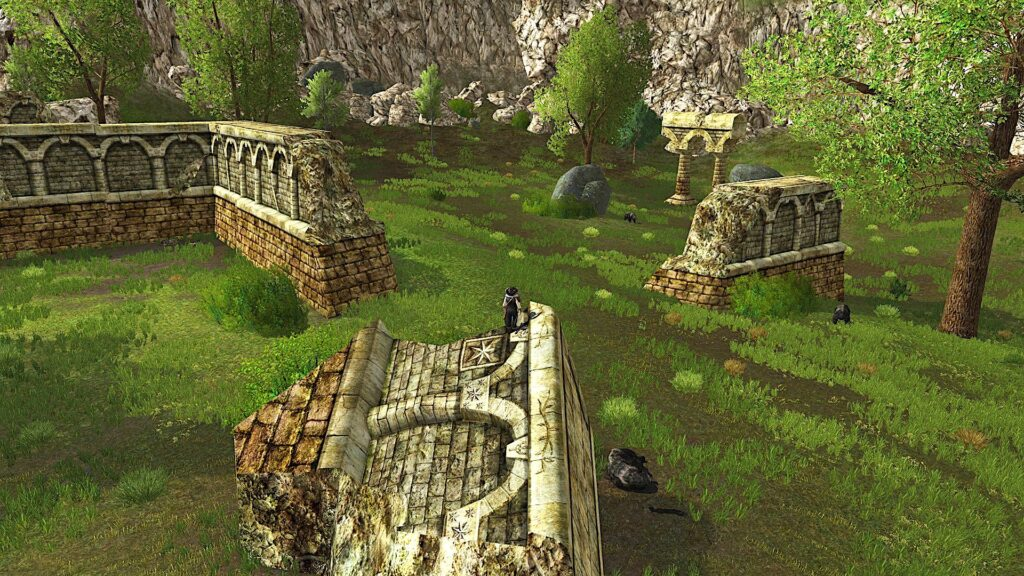 Hillshire Ruins in West Bree-land in LOTRO