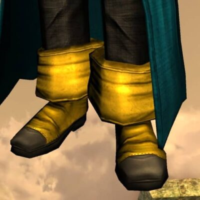 Boots of a Merry Fellow - LOTRO Spring Festival Feet Cosmetic