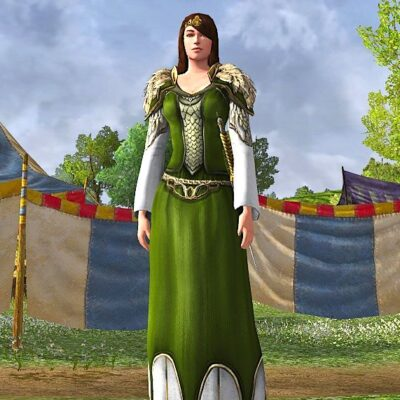 Braided Dress of the Spring Woods - Spring Fest 2020 Cosmetic