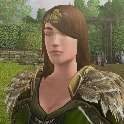 Mantle of the Spring Woods - Female Human