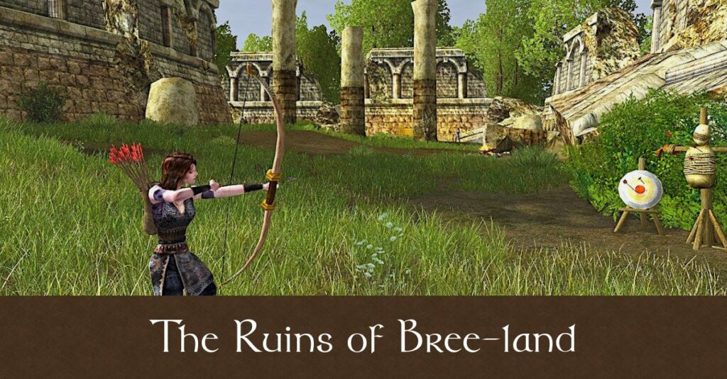 LOTRO - The Ruins of Bree-land Deed Guide and Map