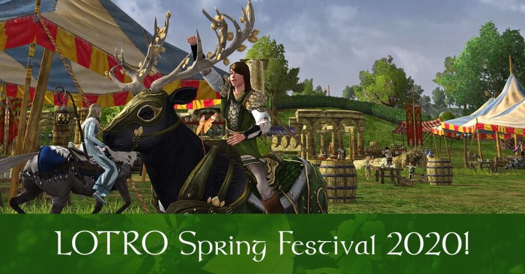 LOTRO Spring Festival 2020 Guide - Quest, Mounts, Cosmetics and More Rewards!