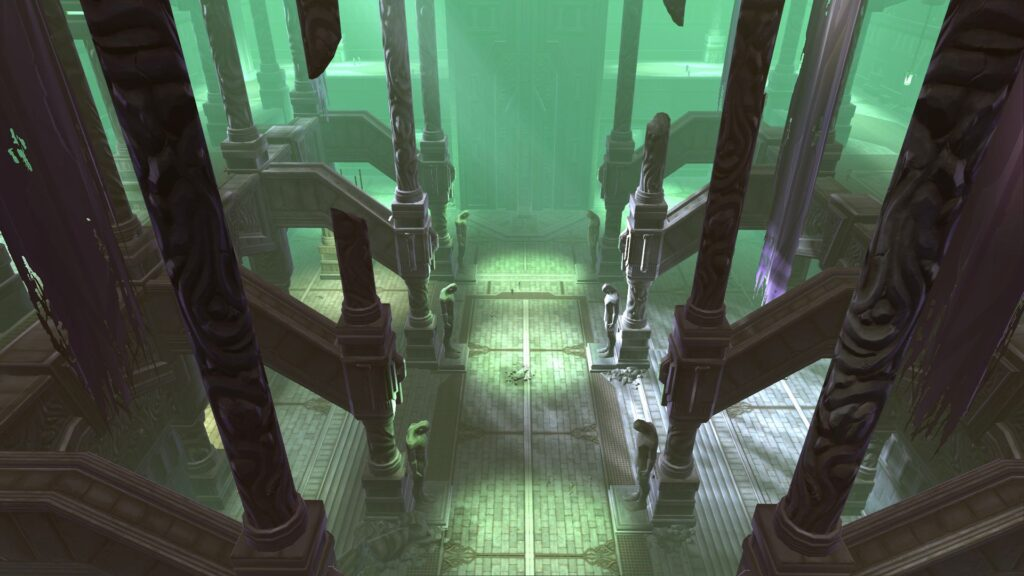 Inside the Dark Temple on Dromund Kaas - SWTOR