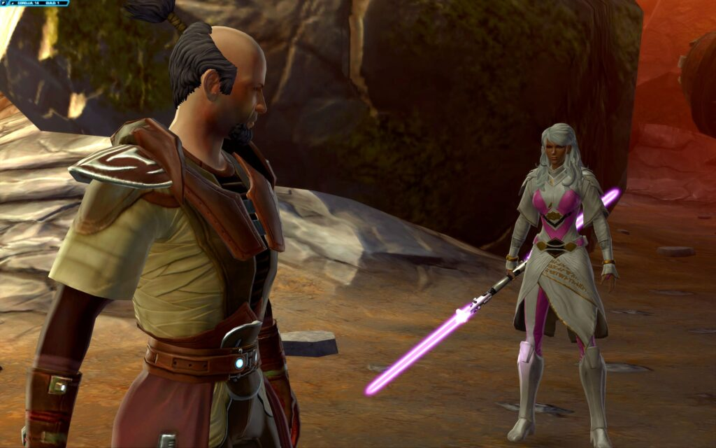 Master Syo Bakarn is the First Son in SWTOR's Jedi Consular Story
