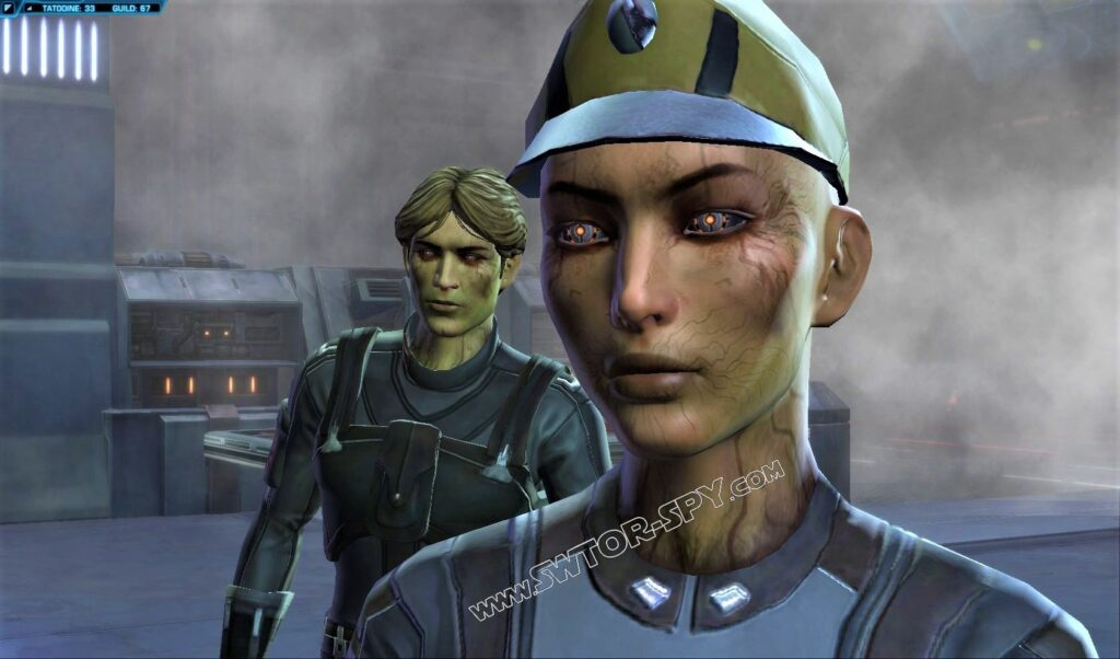 Transformed Keighlah and Perrin on Tatooine - Image c/o SWTOR-Spy