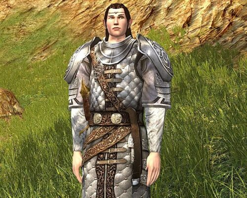 Armour of the Storied Warrior - Chest Cosmetic from the 2019 LOTRO Anniversary