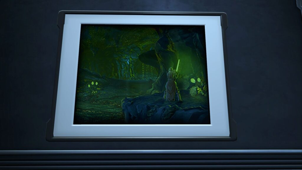 Decoration: Artwork: Rakghoul Tunnels, on a stronghold wall