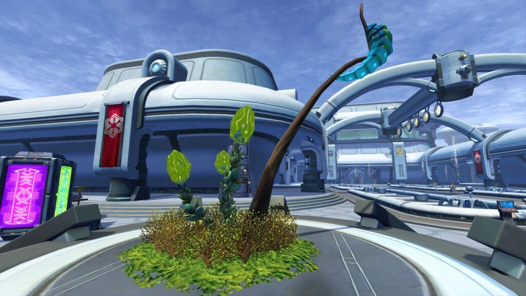 Contagious Plants Stronghold Decoration, SWTOR