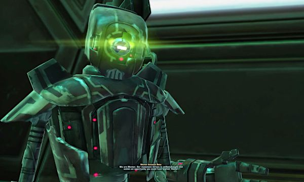 Mentor Assassination Droid from the Directive 7 Flashpoint