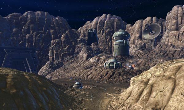 The Foundry Flashpoint takes place in an Asteroid field - remember you can enjoy Flashpoints even at end-game!