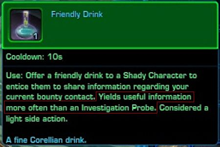 Friendly Drink for Questioning Shady Characters