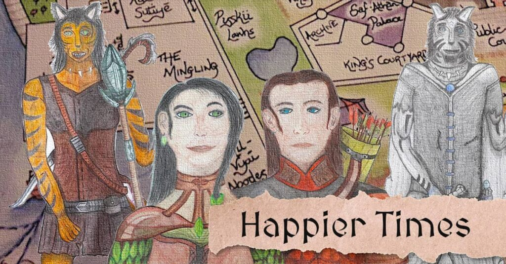 Happier Times - My Fantasy Short Story Chapter Teaser
