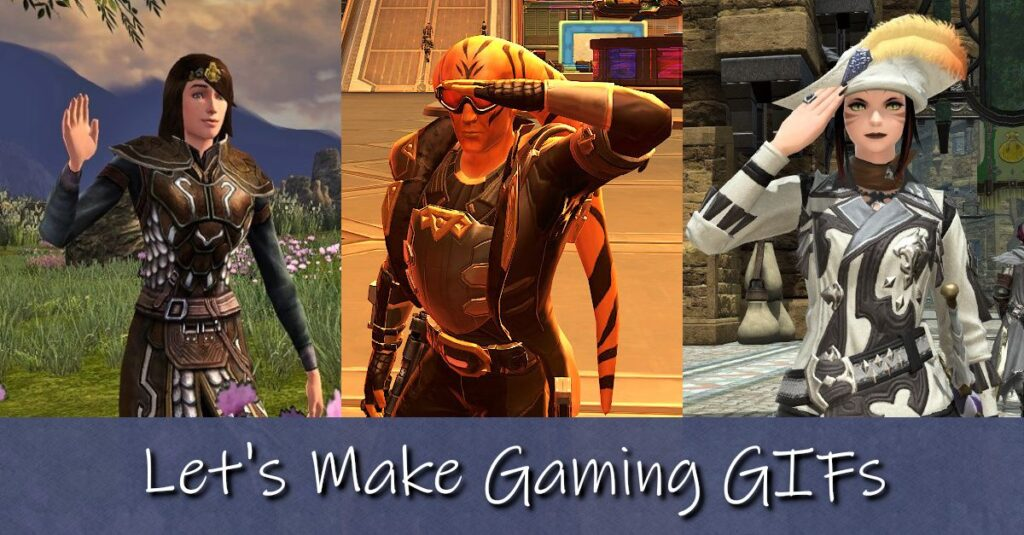 How to Make Gaming Animated GIFs for Free