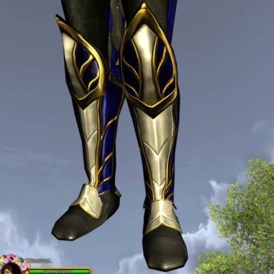 Ceremonial Boots of Remembrance, LOTRO Anniversary Foot Cosmetic