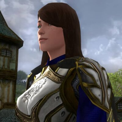 Ceremonial Spaulders of Remembrance, LOTRO Anniversary, Shoulders Cosmetic
