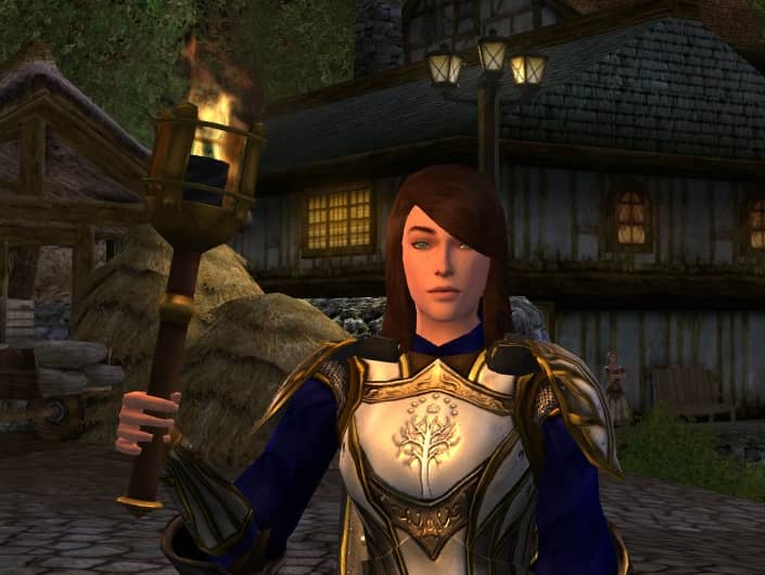 LOTRO Carrying Torch - A Finely-Wrought one and all!