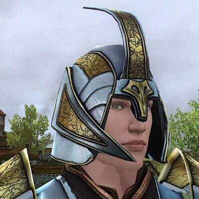 Flourished Ceremonial Helm - Head Cosmetic