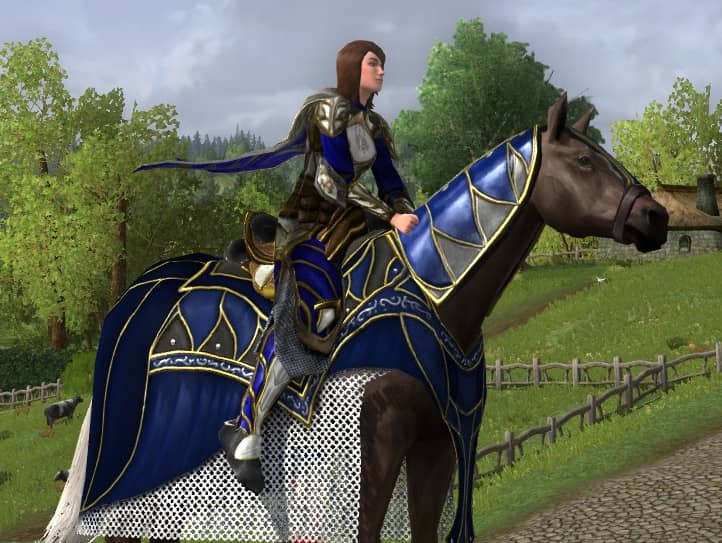 Steed of Remembrance - LOTRO 14th Anniversary Event Mount