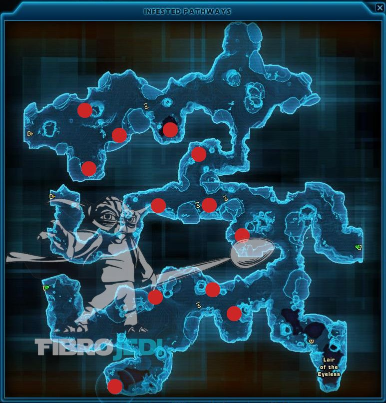 Here's a Map showing some of the locations of Skeletal Remains in the Rakghoul Tunnels