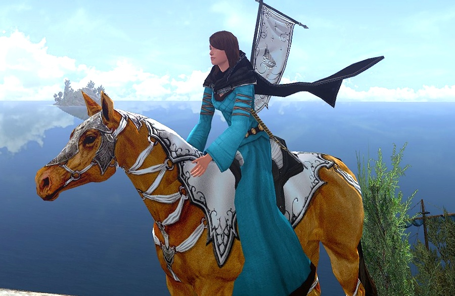Elf Ambassador's Steed - the Horse You Receive for hitting Kindred with 3 Elven Factions