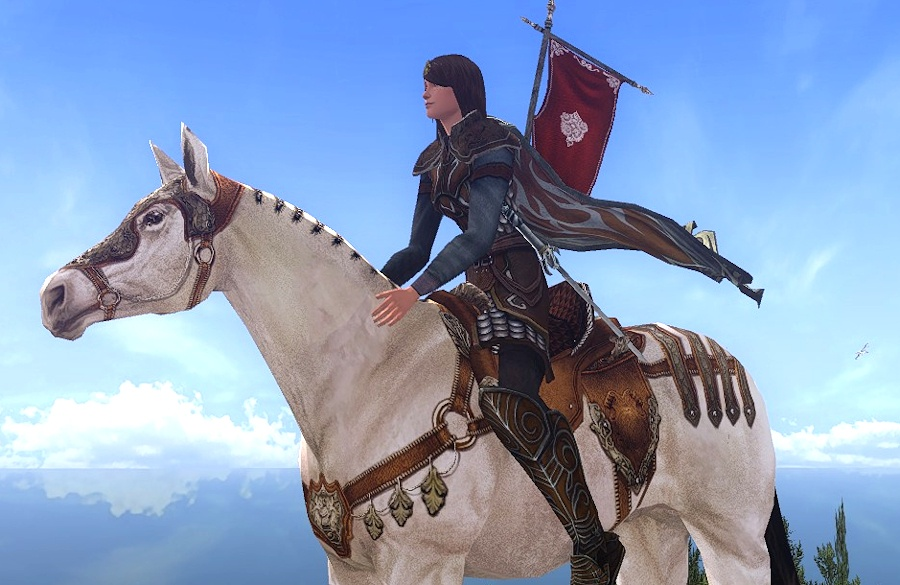LOTRO Eriador Steed - the Horse You get for the World-Renowned DeedLOTRO Eriador Steed - the Horse You get for the World-Renowned Deed