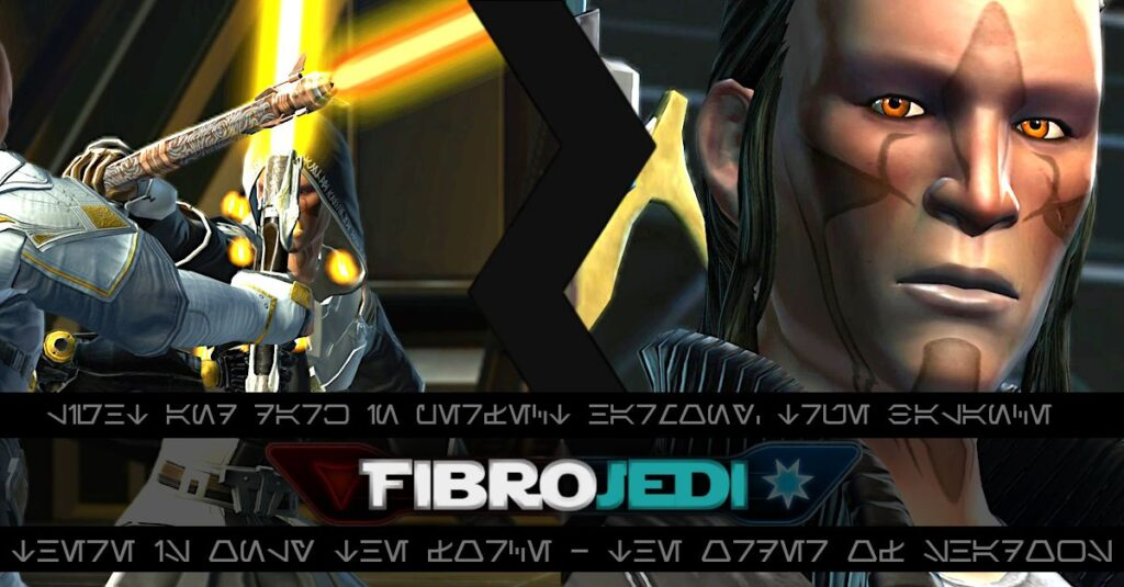 FibroJedi's Fibro and Gaming Blog - graphic is my SWTOR Jedi Shadow