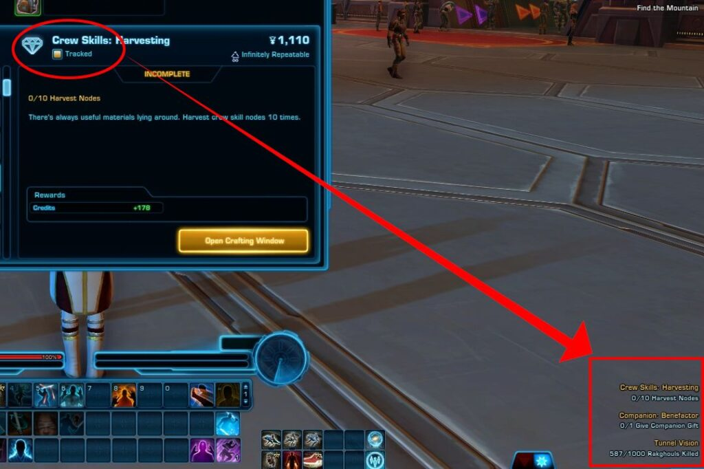 How to track Conquest objectives in SWTOR