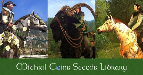 LOTRO Mithril Coins Mounts – Past Festival Horses for MC