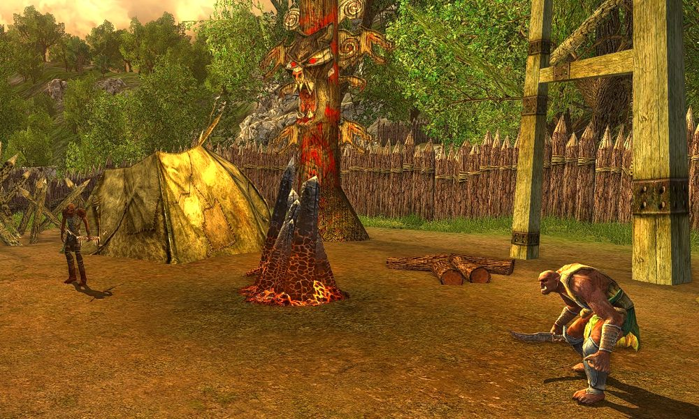 Orc Slayer Deed can be progressed at the Cirith Nur Encampment