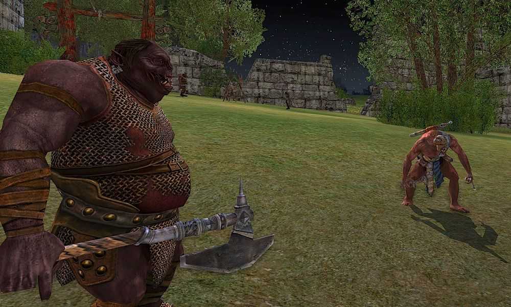 The LOTRO Orc Slayer Deed for Bree-land can be finished off in the Eastern Bree-fields