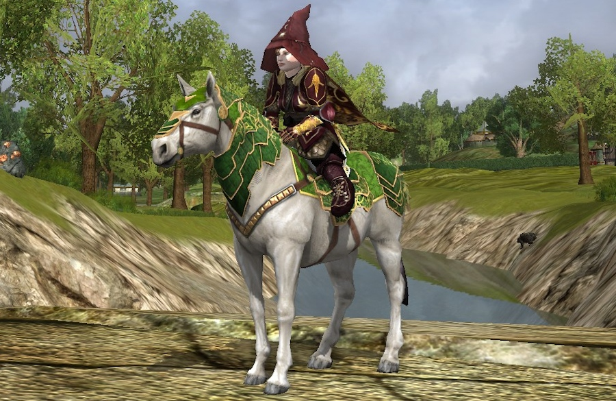 Steed of the New Bloom - past Spring Festival Mount - LOTRO