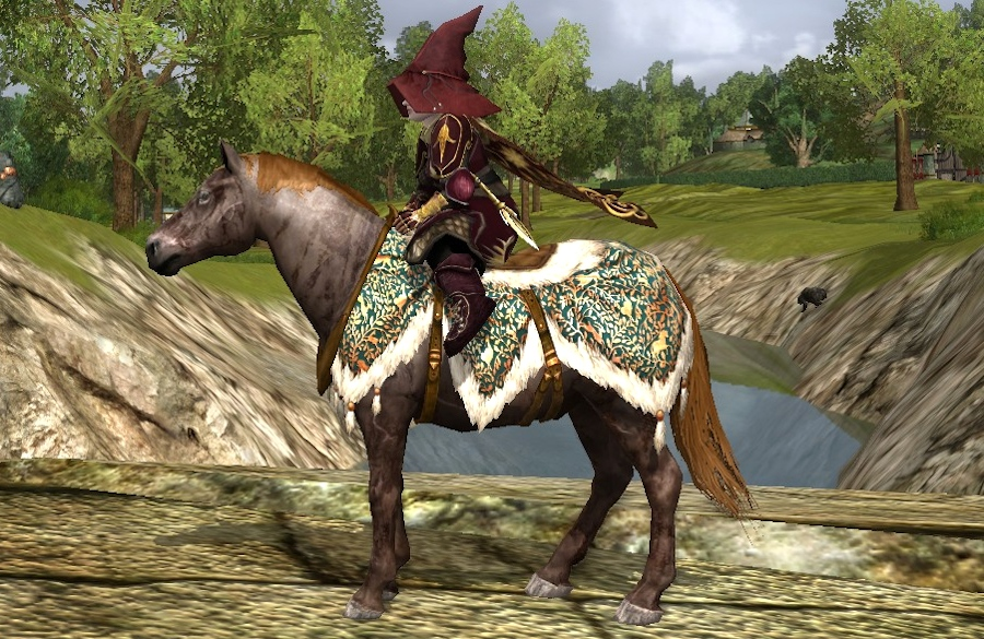 Steed of the Woodland Realm - Old Anniversary Pony - LOTRO
