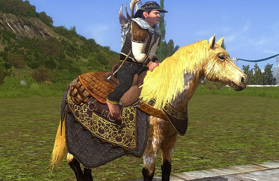 Steed of the Yield - Past Farmers Faire Horse (Mithril Only)