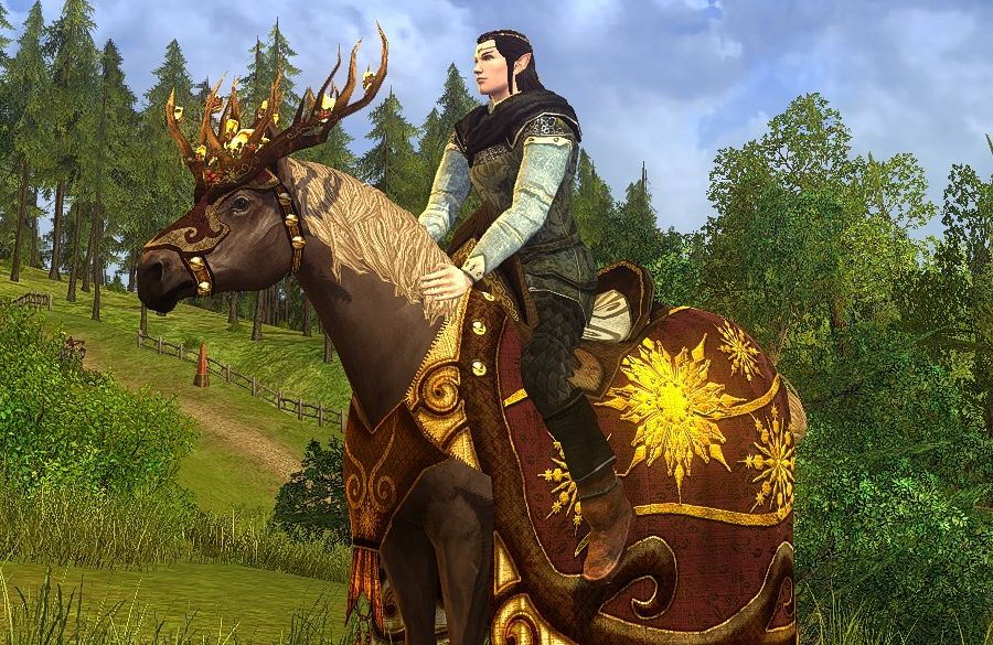 Steed of Winter's Light - Mithril Coins only Mount