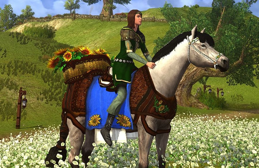 Sunflower Steed - a Past Summer Mount now for Mithril Coins