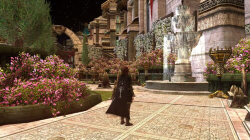 Court of Veronwe on the Players Tier of Minas Tirith