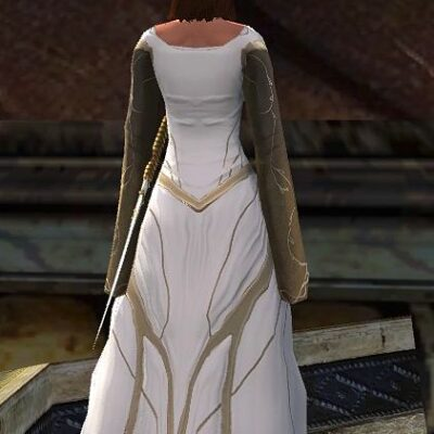 Galadriel's Dress (from the back)
