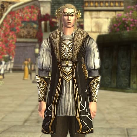 Grooms Tunic (Front) - LOTRO Midsummer Festival Cosmetic Reward