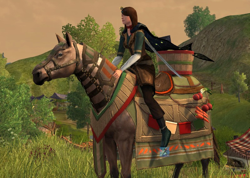 Steed of the Green Grocer - Farmers Faire Mount 2021