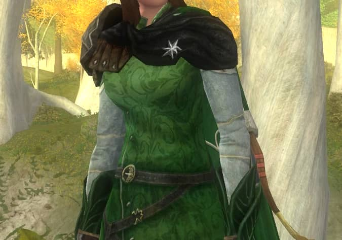 Time-Worn Tunic and Waistcoat - High Elf Light Armour Cosmetic