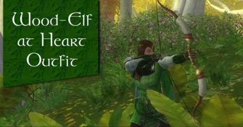Wood-Elf at Heart - LOTRO Outfit Idea for Woman, (Female Race of Man)