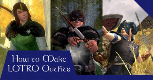 How to make LOTRO Cosmetic Outfits - With and Without Wardrobe