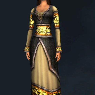Gown of Autumn Nights (Robe/Dress) - Upper Body Cosmetic