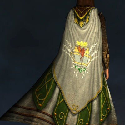 Harvest-Brew Cloak - Back Cosmetic - LOTRO Fall Festival